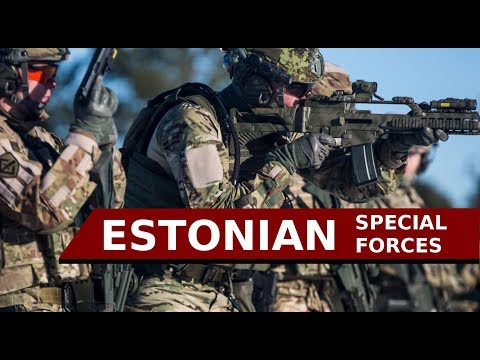 "Estonian Special Forces | 2017 | ""Strength and Honor"""