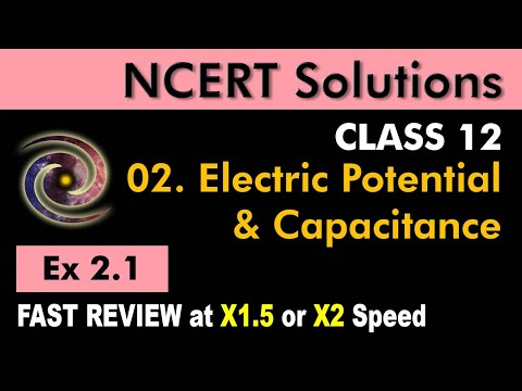 Class 12 Physics NCERT Solutions | Ex 2.1 Chapter 2 | Electrostatics Potential & Capacitance