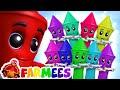 Ten in the Bed | Preschool Nursery Rhymes & Children Songs | Animal Cartoons | Farmees