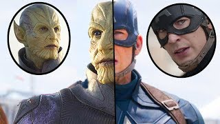 Why Captain America Will Actually Be A Skrull In Avengers 4