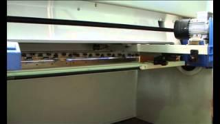 видео Гидравлические гильотины и ножницы для резки металла: узнайте цены