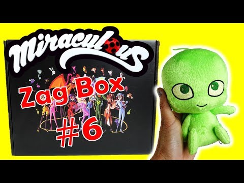 Miraculous Ladybug Toys Zag Box Subscription #6