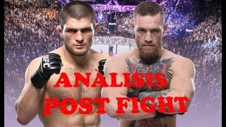 McGregor vs Khabib Análisis Post Fight + Batalla Campal 🔥🔥🔥