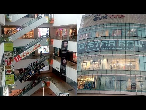 INOX GVK ONE MALL HYDERABAD INSIDE AND OUTSIDE VIEW #SanvisZone