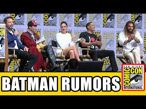 Justice League Respond To Reshoots & Batman Rumors - Comic Con 2017 Panel