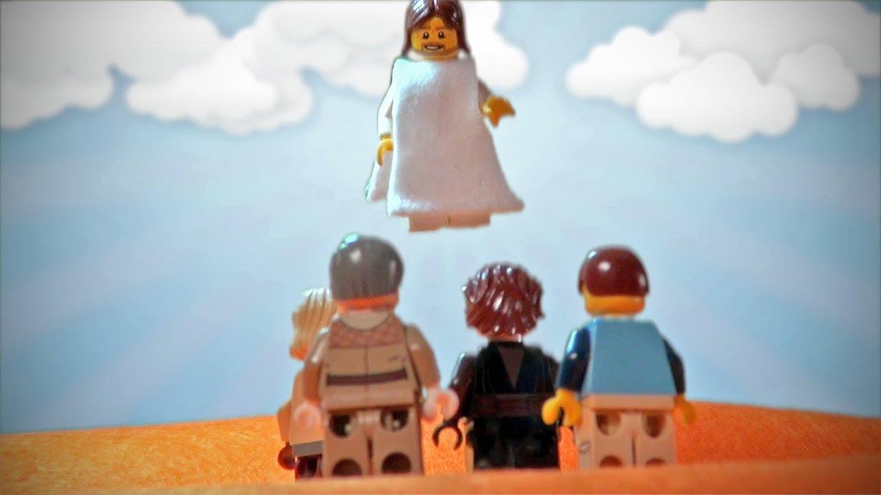 Image result for lego ascension jesus