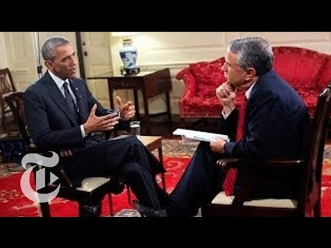 EXCLUSIVE FULL INTERVIEW: Obama On The World | The New York Times