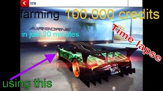 Farming 100,000 credits in just 20 minutes Asphalt 8 airborne