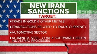 Trump imposes 'most biting sanctions ever' on Iran