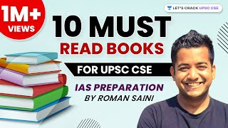 10 Must-Read Books for UPSC CSE / IAS preparation by Roman Saini - हिंदी