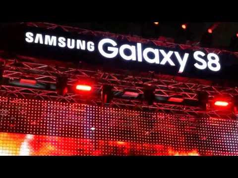 ยาพิษ (Yah Pit) ตูน Body Slam งานเปิดตัว Samsung Galaxy S8 / S8+