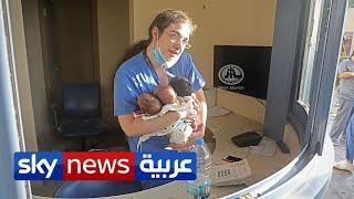 مصور اللقطة الأكثر تأثيرا من انفجار المرفأ يروي قصة ممرضة بيروت   منصات