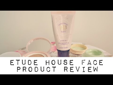 BRAND REVIEW: Etude House Korean Beauty Face Products thumbnail