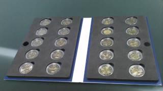 Набор монет 2 евро, 2009 год. 10-летие введения евро(Полный комплект монет, посвященный 10-летию введения евро, включает в себя монеты государств: Мальта, Австри..., 2011-09-14T21:12:57.000Z)
