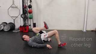 Muay Thai Strength and Conditioning Glute Activation Exercise