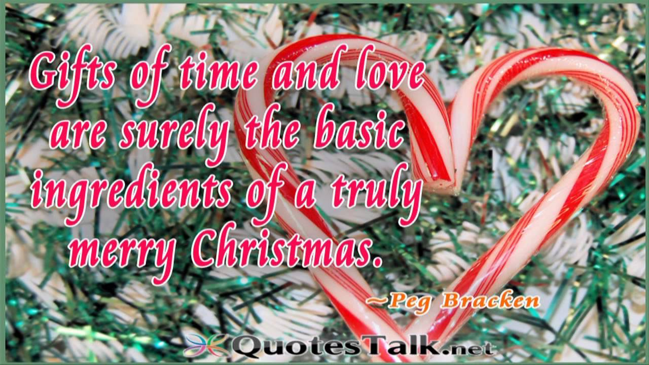 Christmas Love Quotes - Picture Christmas Love Quotes - YouTube