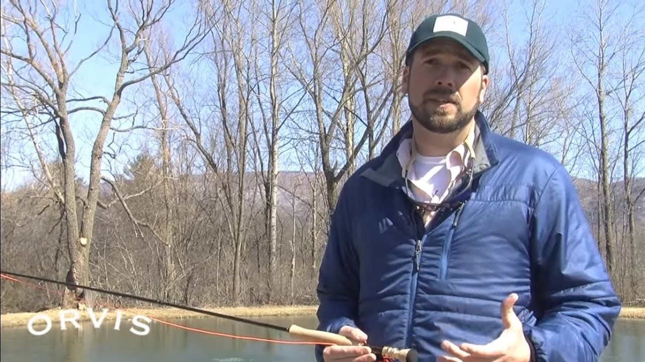 Orvis fly casting lessons improving your roll cast for Fly fishing casting