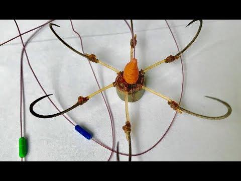 Fishing - How to tie Touch Hook - Đĩa lục - Buộc link - chống lật (2)