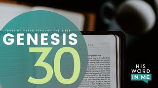 GENESIS 30 Bible Study | His Word In Me