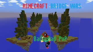 Minecraft: Bridge Wars: AMAZING PVP MINIGAME!
