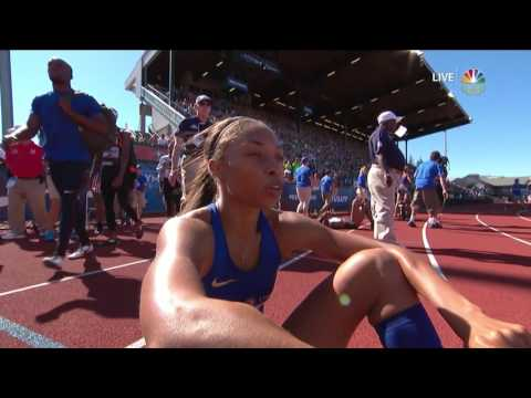 Olympic Track And Field Trials | Allyson Felix Shows Burst To Qualify For Rio In 400m