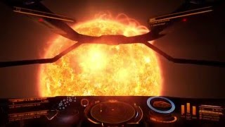 Elite: Dangerous XBOX ONE Sidewinder Jumping To An Asteroid Belt 11.12.15