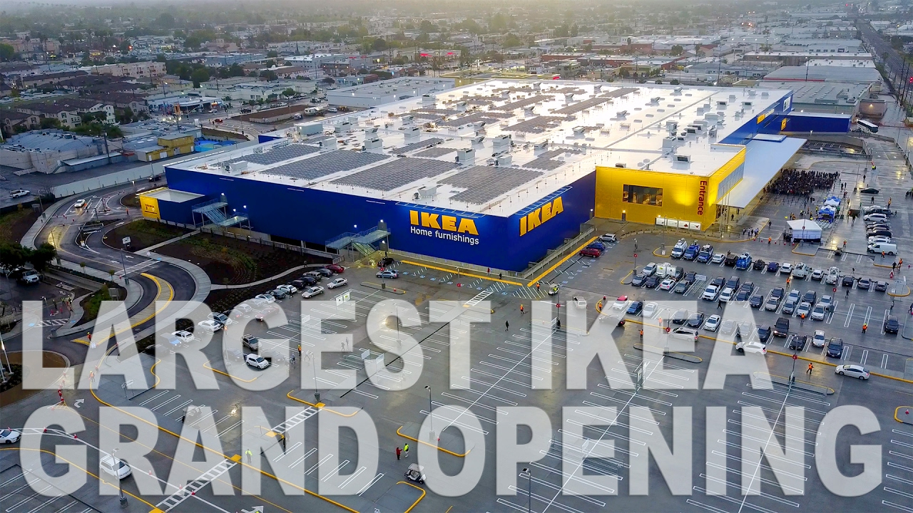 largest ikea in north america grand opening vlog doovi