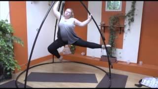 Aerial Yoga London - Using the Omni-Gym