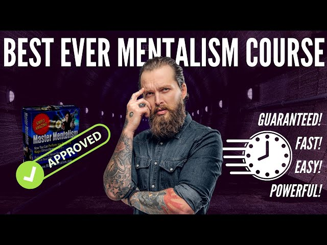 Mentalism Course - 08/2021