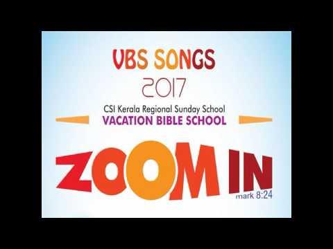 ZOOM IN VBS 2017 KARAOKE  Theme Dong  Yesuvine Nokkidu -- MINUS TRACK