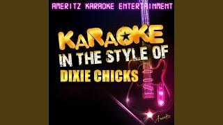 Bitter End (Karaoke Version)