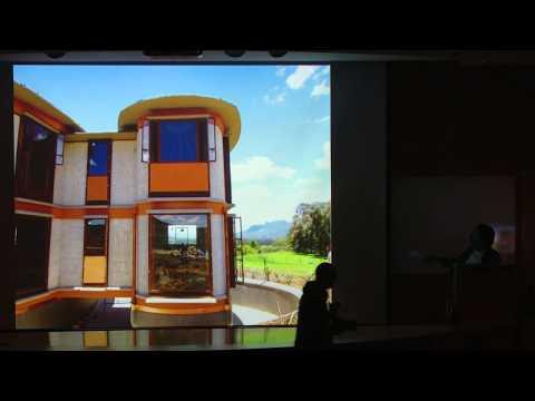 Vegetarian Architecture by Simon Velez Technion lecture