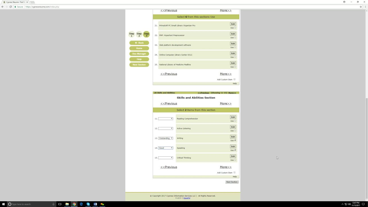 resume Cypress Resume cypress resume 101 youtube 101