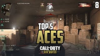 COD WWII: TOP 5 ACES OF THE WEEK #8 - Call of Duty World War 2