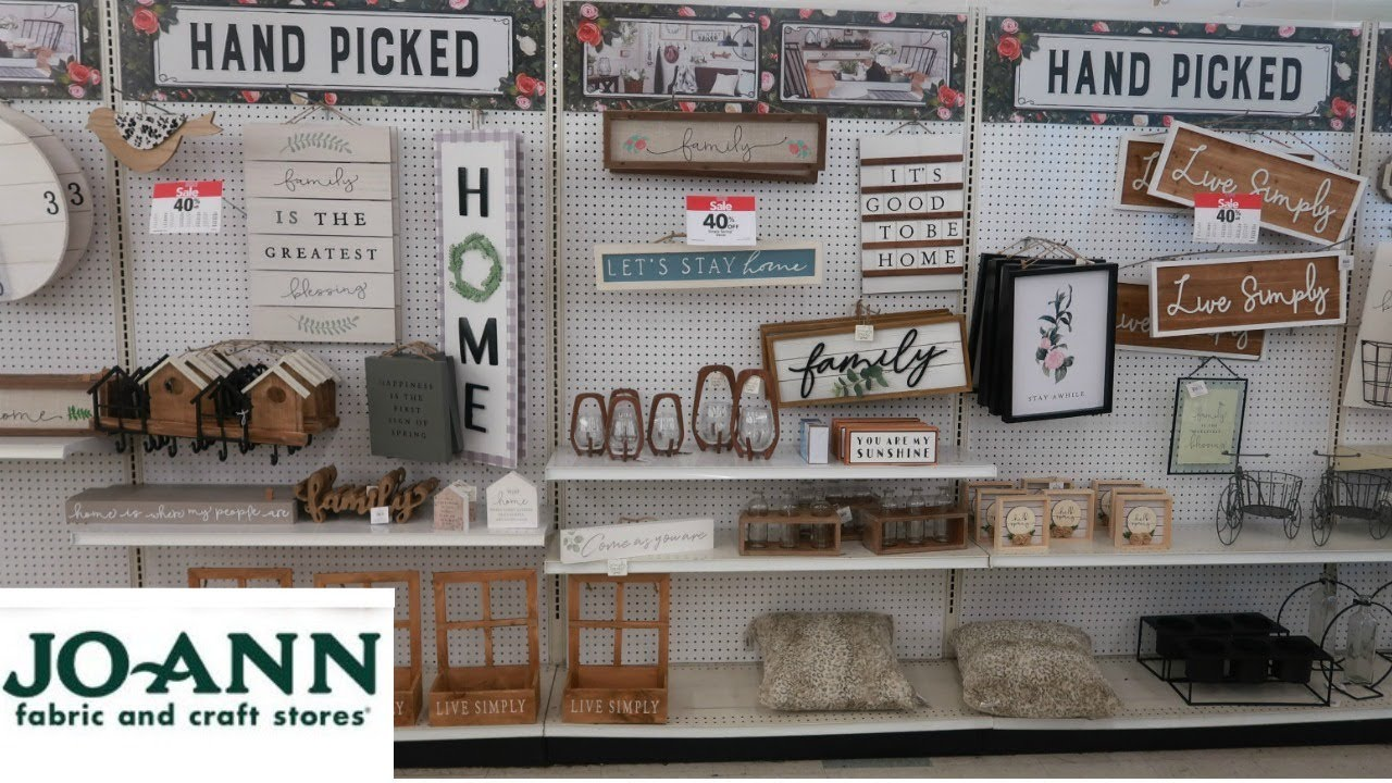 Joann S Come With Me Home Decor Youtube