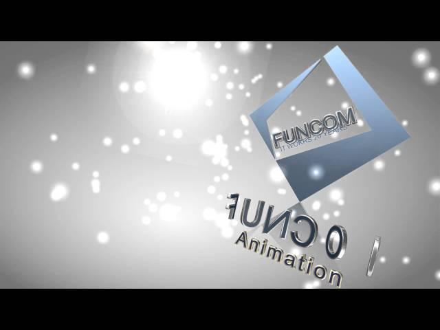 펀컴 3D 타이틀 애니메이션 Version 1.