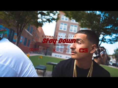 Karma The Artist - Stay Down (Music Video) [Dir by Ogonthelens]