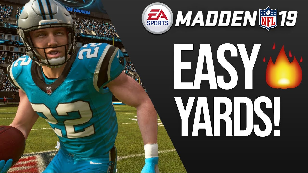This Run Play Is Money! Easy Rushing Yards In Madden 19!