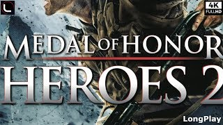 PSP - Medal of Honor: Heroes 2 - Full Game Walkthrough [4K]