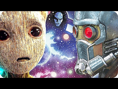 GUARDIANS OF THE GALAXY New Easter Eggs! | James Gunn