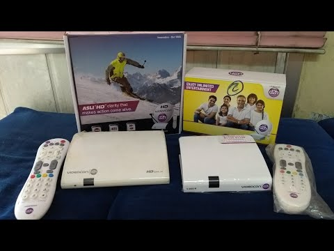 VIDEOCON D2H | NEW SET TOP BOX UNBOXING & REVIEW BY GURINDER SINGH