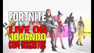 FORTNITE JOOGANDO WITH SUBSCRIBERS COLA AEW | CODE I-NOX