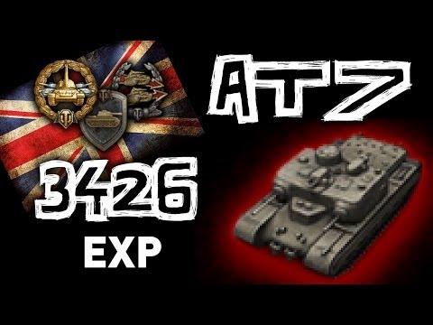 World of Tanks || AT 7 - 3426 EXP