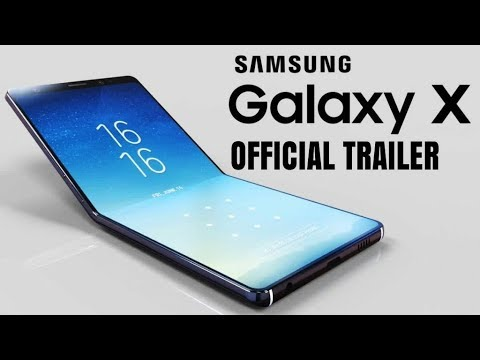 Samsung Galaxy X /Unboxing /Official Trailer / samsung 1st folding smartphone || wanted guyz