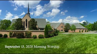 September 13 2020 Morning Worship