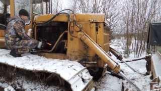 Пуск трактора попытка 2