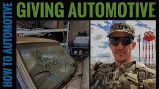 Giving Automotive - Episode 1: Giving Back By Getting a Navy Officer's Truck Running