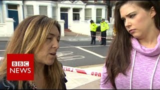Parsons Green: 'There was a human stampede' - BBC News thumbnail