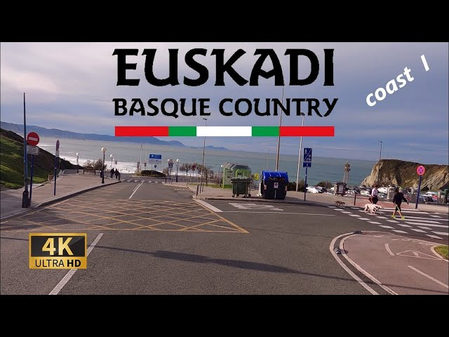 Driving Coast of Bizkaia, Basque Country Part 1 I 4K 60fps