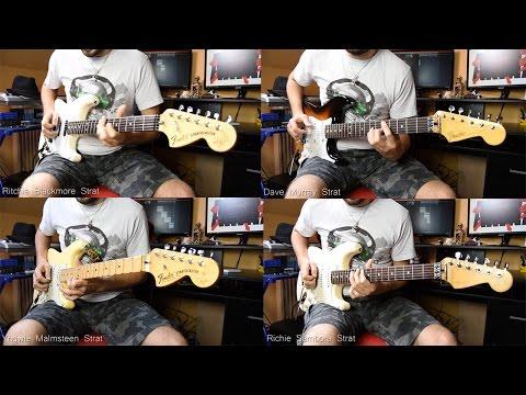 Murray, Blackmore, Sambora and Malmsteen signature guitars SOLO BATTLE
